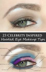 phyrra brings you 23 of the best celebrity inspired hooded eye makeup tips including favorites from