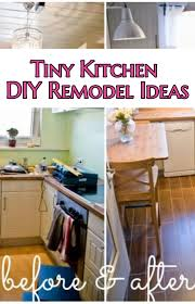 small kitchen ideas diy tiny kitchen remodel results before and after great ideas for