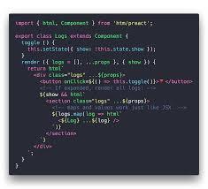 GitHub - developit/htm: Hyperscript Tagged Markup: JSX alternative ...