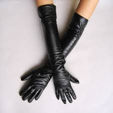 Перчатки aliexpress women s faux leather long gloves ultra long belt long design fashion women s leather gloves women 50cm free отзывы