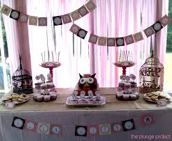 Owl Themed Baby Shower Decorations And DIY Ideas  Printable Door Owl Baby Shower Decor