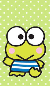 Did you know that hello kitty was born in 1974? Hello Kitty Keroppi Coloring Pages