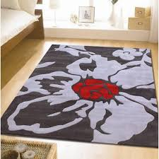 shining red and grey rug creative inspiration wonderful decoration 17 best