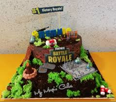 Fortnite Game Cake Cake By My Magic Cakes Cakesdecor
