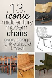 Iconic Modern Furniture 13 Iconic Mid Century Modern Chairs Estate Sale Blog