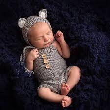 <b>Newborn Photography Props Cute</b> Fox Photo Shoot Clothes For ...