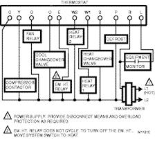 m11312 gif Honeywell Chronotherm Iii Wiring Diagram Honeywell Chronotherm Iii Wiring Diagram #29 Honeywell Chronotherm III Thermostat Connection