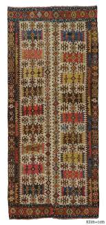 multicolor antique hotamis kilim rug