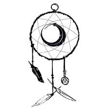 Simple Dream Catcher Tattoos Delectable Dreamcatcher Tattoo Drawing At GetDrawings Free For Personal