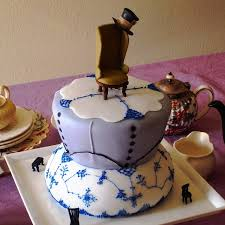 Mad Hatters Tea Party Cake Cakecentralcom