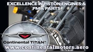 Continental Titan, Titan X340 series aircraft engines & PMA parts ...