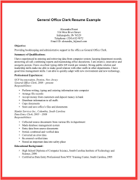 Office Clerk Resume Example. entry level administrative assistant ...