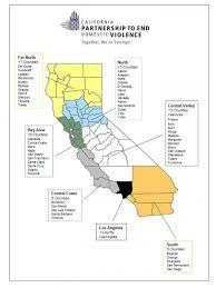 California Regions Map Of California Regions From The California Partnership To