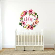 flower wall decals for nursery flower wall decals tree vinyl wall