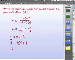 collection of writing linear equations given two points worksheet them and try to solve