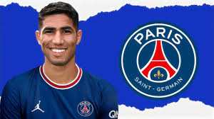 Achraf Hakimi 2021 - Welcome To PSG • Defensive Skills! 🔵🔴 - YouTube