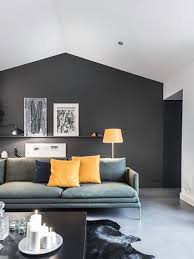 For Feature Walls Living Rooms Black Feature Wall Living Room Living Room Design Ideas