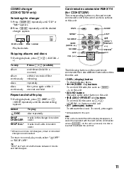 sony cdx gt22w operating instructions page 5 type your new search above