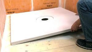 foam shower pan kits shower floor slope kit foam shower pans large size of shower pan foam shower pan