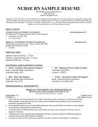 Nursing Resume Template Graduate Nursing Resume Template Free