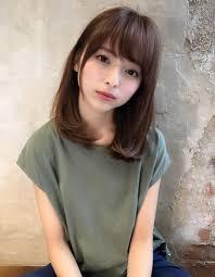 小顔大人かわいいワンカールスタイルnb 89 ヘアカタログ髪型