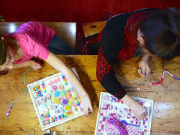 Image result for bead art kids meditation