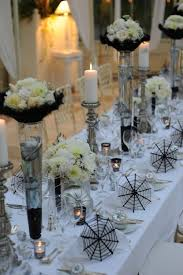 elegant table settings. Spooky But Elegant Halloween Wedding Table Settings N