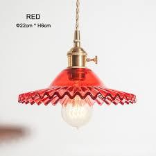 copper glass pendant lights modern european colorful restaurant coffee bedroom lighting e27 bulbs