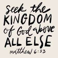 Image result for matthew 6 33