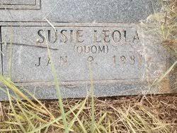 Susan Leola Odom Binford (1931-Unknown) - Find A Grave Memorial