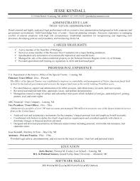 Law School Resume Example Legal Resume Format Attorney Example Legal