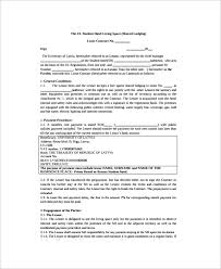 A room rental agreement is a contract which legally binds owner of the room and the person who want to rent it. Free 10 Sample Room Lease Agreement Templates In Ms Word Pdf