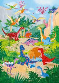 Wizardgenius Dino World Fotobehang 183x254cm Yourdecorationnl