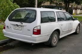 File:2002 Ford Falcon (AU III) Futura station wagon (2015-07-24 ...