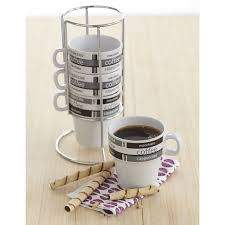 Is your kitchen short on space? Stackable Cappuccino Cups Espresso Machine Experts