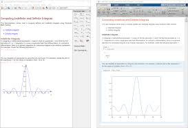 mupad matlab simulink performing analytical integration in the mupad notebook left and in the matlab live editor
