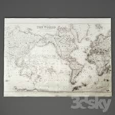 world map grand canvas wall tapestry 2 rh baby