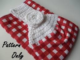 Crochet Towel Topper Pattern Delectable Pattern Crochet Towel Topper Pattern Crochet Pattern Towel