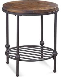 rustic round end table. Round End Table, Rustic Barn Side Finish Table