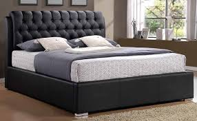 Leather Beds is good black leather look bed is good full leather bed ...