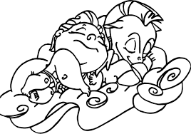 Baby Hercules Pegasus Coloring Pages Tramp Sleeps For Kids Awesome