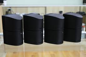 bose double cube speakers. bose lifestyle acoustimass double cube speaker - set of 4 image speakers
