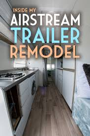 Airstream Interior Design Minimalist Simple Inspiration Design