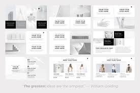 17 Clean Powerpoint Templates For Simple Modern Presentations