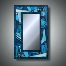 blue mirrors funky freestyle turquoise blue stained glass mosaic mirror x blue mirror delphinium care