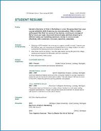 Student resume templates and job search guidelines. Resume Template For College Student Templateral