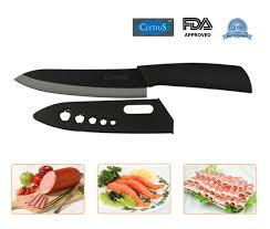 Middia Knife Chinese 6 Inch Black Ceramic Kitchen Cleaver Knife Ceramic Kitchen Knives