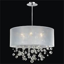 full size of living pretty chandelier with shade and crystals 22 crystal drum attractive bubble silhouette
