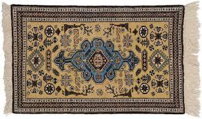 2x4 persian ardebil yellow oriental rug 035373