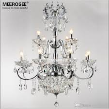 wrought iron crystal chandelier light fixture 2 tiers 12 e14 or e12 lights crystal re lamp chandelier lighting white chandelier orb chandelier from